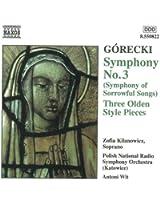 Gorecki : Symphonie n° 3