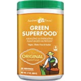 We took our best selling Green SuperFood and infused it with anti-oxidant rich goji and acai berries.   Berry Green SuperFood offers the most organic greens per gram and is a great tasting, gluten free, soy free, raw and vegan friendly green drink po...