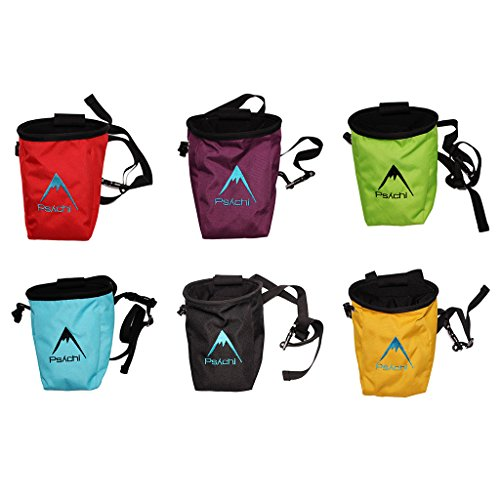 Psychi-Chalk-Bag-for-Rock-Climbing-Bouldering-with-Rear-Zip-and-Waist-Belt