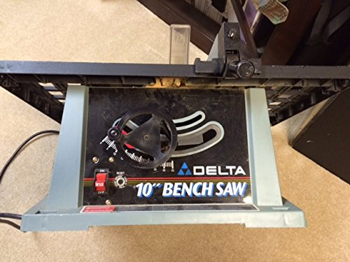 DELTA TS200LS Shopmaster 10-Inch Portable Bench Saw with Legs