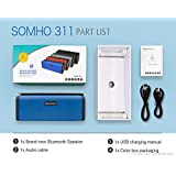 Zagmagat 2017 SOMHO S311 Popularity NO.1 TF Portable Dual Loud Speaker Bluetooth Speaker,Wireless Mini Usb Multifunction Card Audio Amplifier, (color Multi)