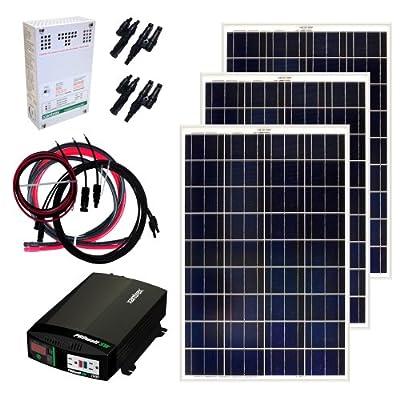 Grape Solar GS-300-KIT 300-Watt Off-Grid Solar Panel Kit from Grape Solar