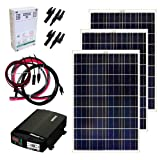 Grape Solar GS-300-KIT 300-Watt Off-Grid Solar Panel Kit
