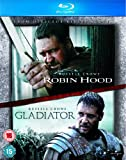 Robin Hood / Gladiator Double Pack [Blu-ray] [Region Free]
