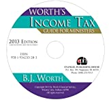 img - for Worth's Income Tax Guide for Ministers 2013 Edition CD-Rom book / textbook / text book