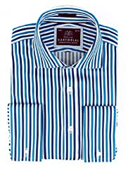 Pure Cotton Bengal Striped Shirt [T11-4529-S]