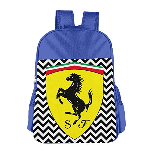 launge-kids-ferrari-logo-school-bag-backpack