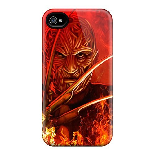 Durable-Cell phone-Cover rigida per Iphone 6 Plus con personale, motivo: Fashion Marycase88 Freddy Krueger