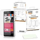 Orzly® - XPERIA Z1 MINI Premium Hartglas Displayschutzfolie aus Gehärtetem Glas 0,3mm Tempered Glass Screen Protector für SONY XPERIA Z1 MINI / XPERIA ZI COMPACT - D5503 Modell SmartPhone / Handy 2014