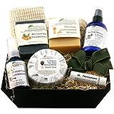 The Man-TasticTM Executive Gift Basket All Natural Handmade - All Natural Handmade Soaps, Shave Oil, Lotion & Lip Balm, Especially for Men