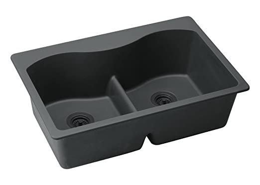 "Harmony 33"" x 22"" E-Granite Kitchen Sink"