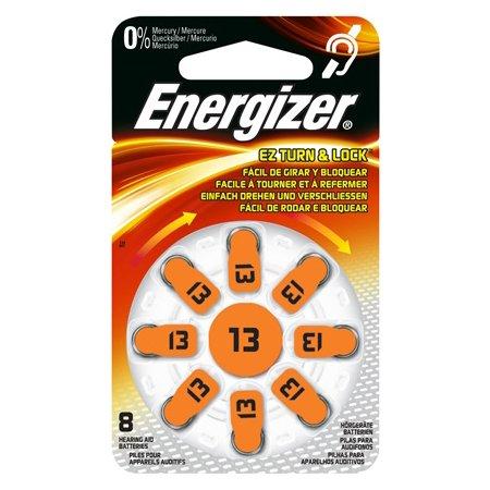 Energizer AC13-S8 Piles pour prothèses auditives