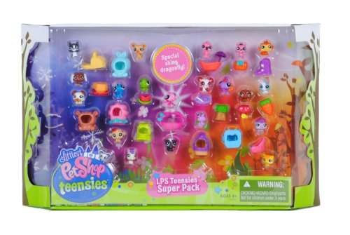 Littlest Pet Shop Teensies Multi Pack de mascotas