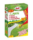 Doff 3 In 1 Lawn Feed Weed & Moss Killer 1.75Kg