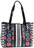 Nine West Can't Stop MD Tote,Blue Multi,One Size