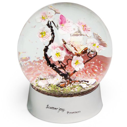 Smithsonian Cherry Blossom Waterglobe