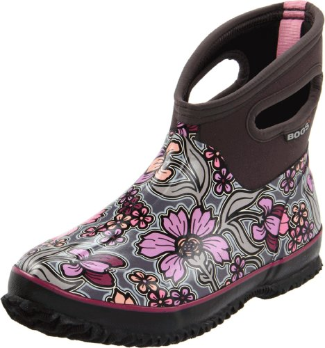 Womens classic rain boot for Bogs classic mid le jardin