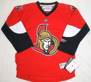 Ottawa Senators NHL Reebok Hockey Jersey Boys Size 4-7 Red by Reebok