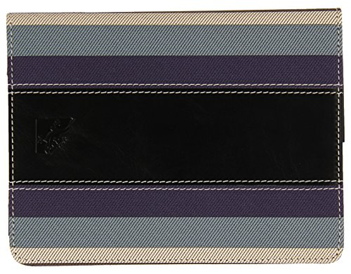 La housse etui Gecko Covers Kobo Aura HD en cuir véritable 'fashion bleu' pour la Kobo Aura HD e-reader eBook
