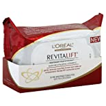 L'Oreal Dermo-Expertise RevitaLift Wet Cleansing Towelettes, Radiant Smoothing, 30 ct.