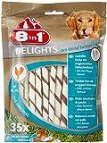 8in1 Delights Twisted Sticks Dental 35 Pièces
