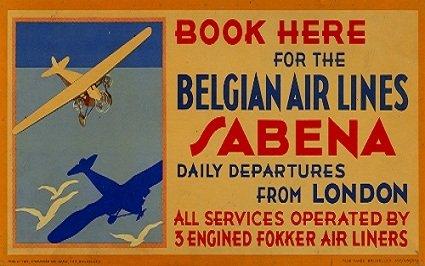 vintage-de-aviacion-y-viajes-belgica-sabena-airlines-para-el-belga-linea-de-aire-3-motor-fokker-air-