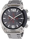 Diesel Herren-Armbanduhr XL Chronograph Quarz Edelstahl DZ4298