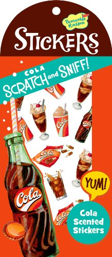 Peaceable Kingdom / Scratch & Sniff Cola Scented Sticker Pack front-1015475