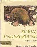 Simon Underground (0060251565) by Joanne Ryder