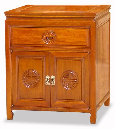 Rosewood TV Cabinet - Chinese Longevity Design