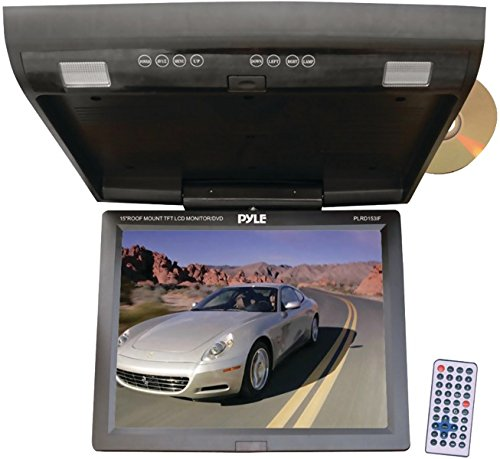 """Pyle - 15.1"""" Flip-Down Monitor With Dvd Player & Wireless Fm Modulator/Ir Transmitter *** Product Description: Pyle - 15.1"""" Flip-Down Monitor With Dvd Player & Wireless Fm Modulator/Ir Transmitter 15.1"""" Widescreen High-Resolution Tft Lcd Monitor ***"""