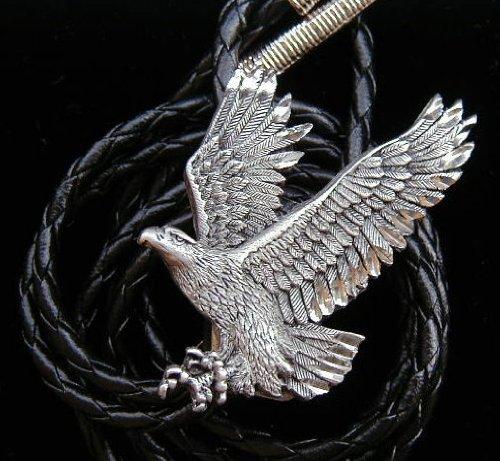 Cut Out Eagle Bolo Tie