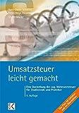 Image de Umsatzsteuer - leicht gemacht: Eine Darstellung der sog. Mehrwertsteuer für Studierende u