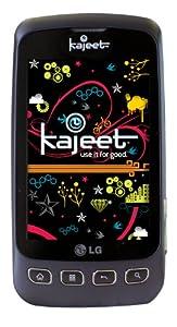 LG Optimus S  Android Prepaid Phone, Black (Kajeet)