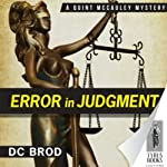 Error in Judgment (       UNABRIDGED) by D. C. Brod Narrated by Marc Vietor