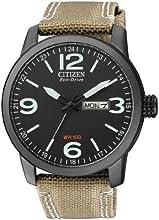 Comprar Citizen BM8476-23EE - Reloj analógico de cuarzo para hombre, correa de nailon color crema