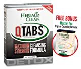Bundle - 2 Items Fast Detox (1) Qtabs & (1) Master Tea by Herbal Clean - For Ultimate Quick Emergency Detoxification + Pre Detox and Post Detox With Master Tea To Get Absolutely Clean Today - Detoxify Safe with Herbal All Natural Ingredients