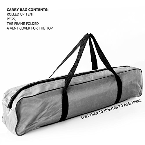 Swift-n-Snug Waterproof 2-Person Dome Zip Door C&ing Tent with Carry Bag - Yellow / Gray Sporting Goods Outdoor Recreation C&ing Backpacking Hiking  sc 1 st  WebCortex & Swift-n-Snug Waterproof 2-Person Dome Zip Door Camping Tent with ...