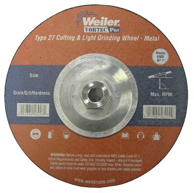 где купить Weiler 804-56430 4-.50 in. X .13 in. Type 27 Cutting & Light Grinding Wheel, A по лучшей цене