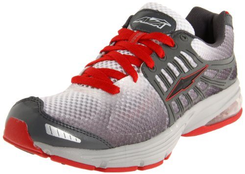 AVIA Men's A5230M,Steel Grey/Chrome Silver/Varsity Red,12 D US