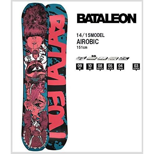 【スノーボード 板】14-15 SNOWBOARD BATALEON AIROBIC 【151】