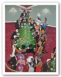 "High Rollers - Giclee by Annie Lee 20""x26.5"" Art Print Poster"