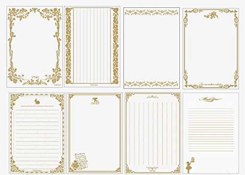 48 per pack wax letter paper letter paper size 145 210mm vintage