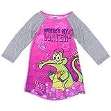 Komar Kids Little Girls'  Where's My Water Long Sleeve Disney Gown