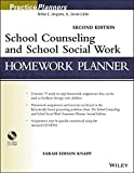 img - for School Counseling and School Social Work Homework Planner by Sarah Edison Knapp (2013-08-12) book / textbook / text book