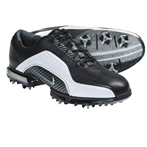 2011 Nike Men's Zoom Advance Golf Shoes (Medium) (9 D(M), Black/Black/Metallic Silver)
