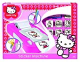 Multiprint Hello Kitty Sticker Machine Rubber Stamp Set