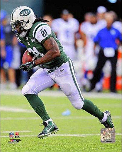"Chris Johnson New York Jets 2014 Nfl Action Photo (Size: 8"" X 10"") front-1041220"