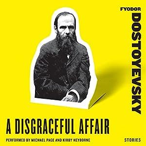 A Disgraceful Affair: Stories Audiobook