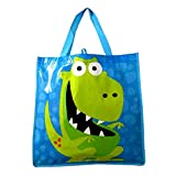 Kids Cartoon Dragon Themed Reuseable Eco-Friendly Tote Bag